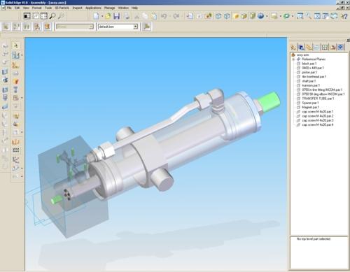 design-cad-servo-cylinder