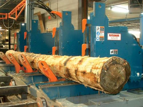 log-carriage